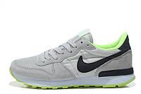 Женские кроссовки Nike Internationalist grey-green, фото 1