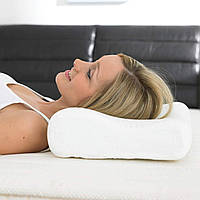 Ортопедическая подушка с эффектом памяти для здорового сна «Memory Pillow» White (WJ12)