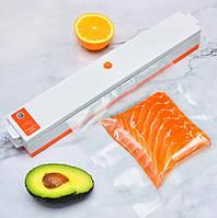 Описание Вакуумный упаковщик в пленку Вакууматор для еды Freshpack Pro + Пакеты в подарок
