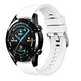 Ремешок для часов Silicone bracelet Universal Type D, 22 мм. White, фото 4