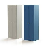Шкаф для одежды металлический 400/2
