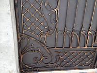 Кованые ворота с калиткой, производство Херсон