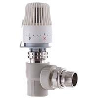Кран термостатический с термоголовкой угловой 25x3/4 PPR KOER K0154.PRO (KP0196)