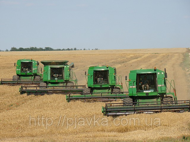 Услуги по уборке урожая по всей Украине