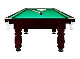 """Більярдний стіл для піраміди """"CLASSIC II"""", 9 футів, 260х130 см, TT BILLIARD, гарантія 2 роки, фото 2"""
