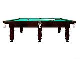 """Бильярдный стол для пирамиды """"CLASSIC II"""", 12 футов, 360х180 см, TT BILLIARD, гарантия 2 года, фото 3"""