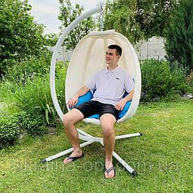 Підвісне крісло кокон для будинку й саду МН-2745