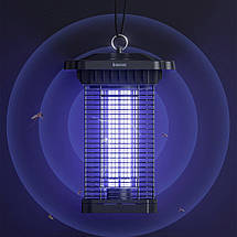 Антимоскітна лампа Baseus Pavilion Courtyard Mosquito Killer ACMWD-TB01 (Чорна), фото 3