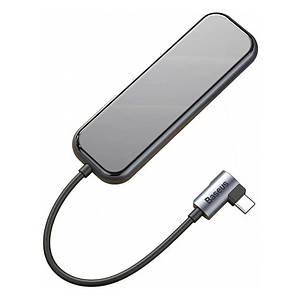 USB-хаб Baseus Multi-functional Type-C to 4 USB3.0 CAHUB-EZ0G (Черный)