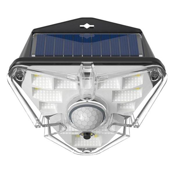 Світлодіодний світильник на сонячній батареї з датчиком руху Baseus DGNEN-A01 (Чорний)
