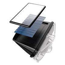 Світлодіодний світильник на сонячній батареї з датчиком руху Baseus DGNEN-A01 (Чорний), фото 2
