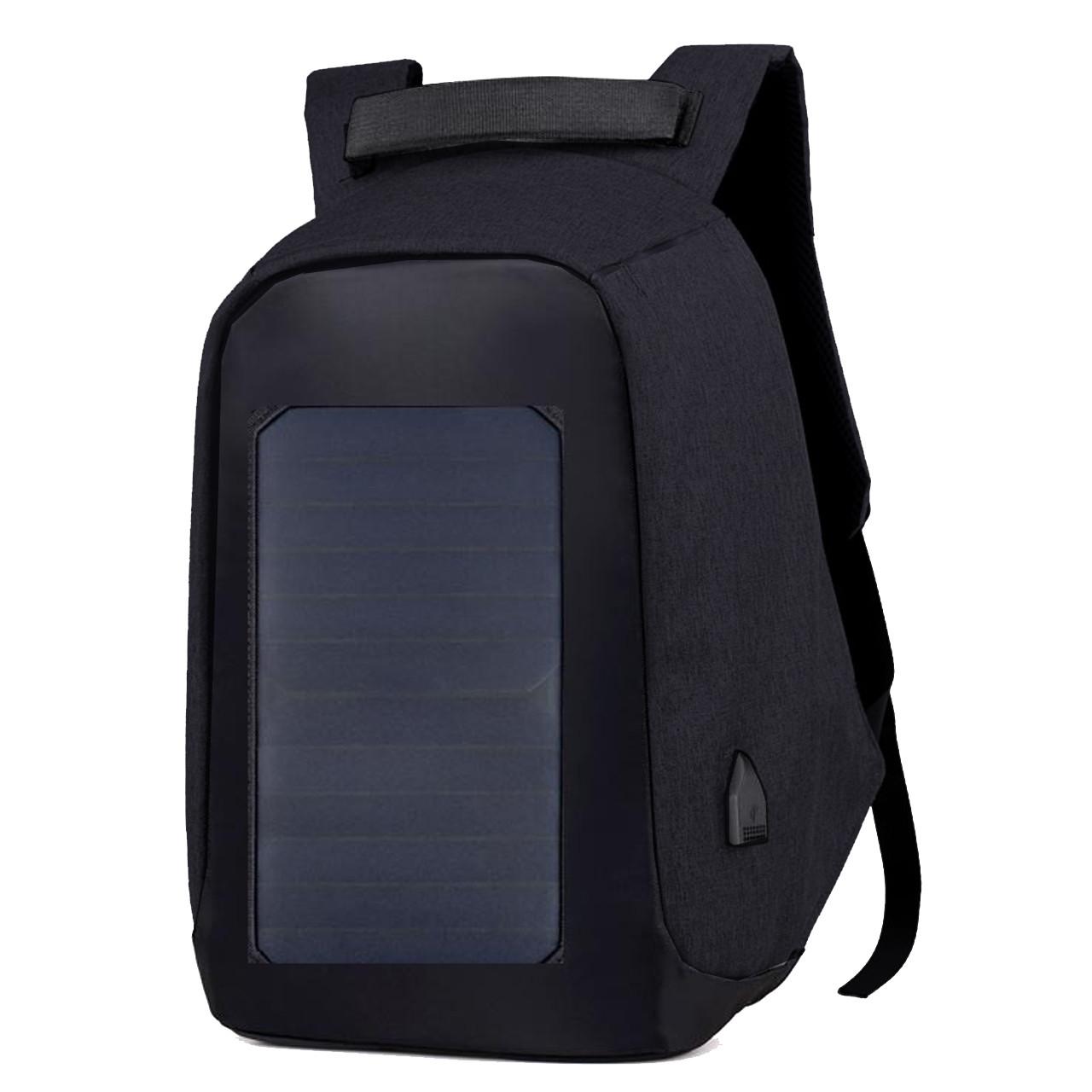 Рюкзак антивор Eceen ECE-681T с USB Black (3120-8663a)