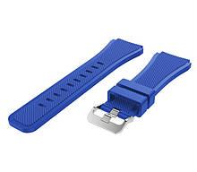 Ремінець BeWatch силіконовий 22мм для годинника ECO універсальний Синій (1021105)