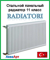 Стальной радиатор Raditori 11k 500*1000 боковое подключение