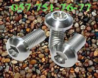 Винт М8 ГОСТ 28963-91, DIN 7380, ISO 7380 с полукруглой головкой, класс прочности 10.9