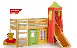 Детская деревяная Halmar кровать FLO