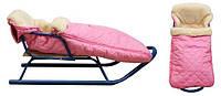 Конверт детский меховой в коляску, в сани. (арт.910-10)