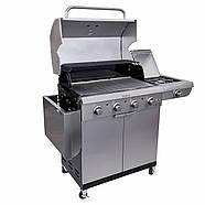Газовый гриль Saber Select 4-Burner Gas Grill, фото 7