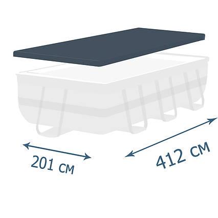 Тент - чохол для каркасного басейну Bestway 58232, 412 х 201 см