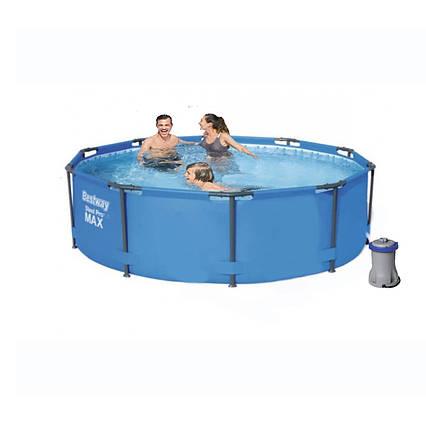 Каркасний басейн 56984 - 4, 305 х 100 см (1 250 л/год, підстилка)