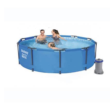 Каркасний басейн 56984 - 5, 305 х 100 см (3 785 л/год, підстилка)