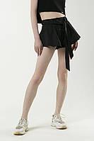 Шорти жіночі 'Party' чорні. Жіночі стильні шорти чорного кольору.