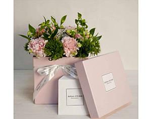 Коробка для квітів з логотипом від 30 шт.