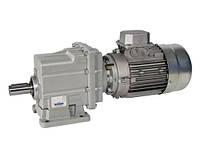 CMG013H6575.0871B14W21AL 0.25kW4p циліндричний мотор-редуктор i=75.08