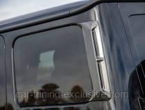 LUMMA side window covers for Mercedes G-class W463A