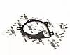 Прокладка помпи ORIJI Чері Кімо Chery Kimo 473H-1307041