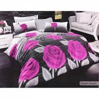 Постельное белье Best Class ранфорс ―  Purple dream  сирень евро размера