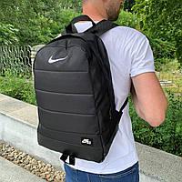 Мужской городской рюкзак Nike, спортивный черный рюкзак , стильный качественный из ткани оксфорд
