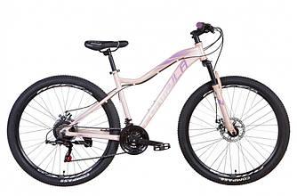 """Велосипед 27.5"""" FORMULA ALPINA 2021 (17.5"""" светло-розовый с фиолетовым)"""