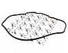 Прокладка клапанной крышки ORIJI Грейт Вол Пегасус Great Wall Pegasus 1003085-E00