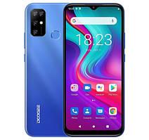 "Смартфон DOOGEE X96 PRO 4/64 BLUE, 2sim, 5400mAh, 13+2+2+2/8Мп, екран 5.52"" IPS, 8 ядер, 4G"