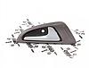 Ручка двери внутренняя передняя/задняя правая ORIJI Чери Джагги Chery Jaggi S21-6105240
