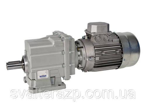 CMG022H6535.9180B14 0.75kW4p циліндричний мотор-редуктор i=35.91