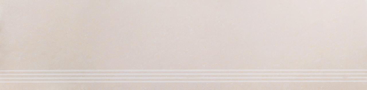 Керамогранит Ступень Микрокристал бежевый, 30х120