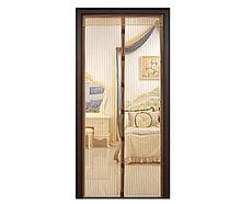 Антимоскітна сітка на двері на магнітах Magic Mesh 100х210