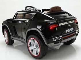 Детский Электромобиль Джип Lamborghini Utus JJ 288 черный на радиоуправлении, открываются двери и багажник, фото 2