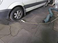 Напольное покрытие для гаража из ПВХ