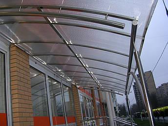 Навесы из нержавеющей стали, фото 2