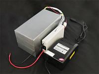 LiFePo4 Литий-железо-фосфатный аккумулятор 24В 10-40A для электродвигателей
