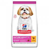 Hill's SCIENCE PLAN Mature Adult Small & Mini Сухий Корм для Собак з Куркою - 6 кг, фото 1