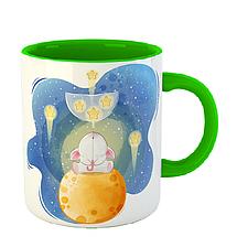 Чашка Слони на повітряній кулі, фото 3