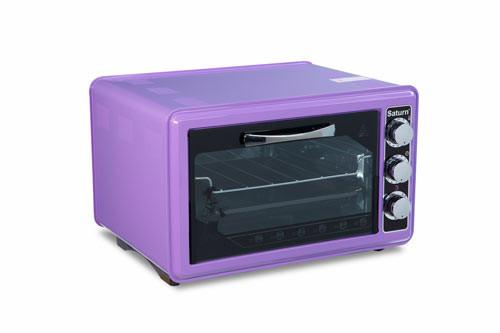 Электрическая печь (электродуховка) Saturn ST-EC1076 Violet (фиолетовая)
