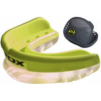 Капа боксерская RDX Gel 3D Green, фото 1