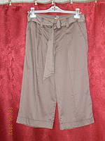 Легкие укороченные брюки из хлопка