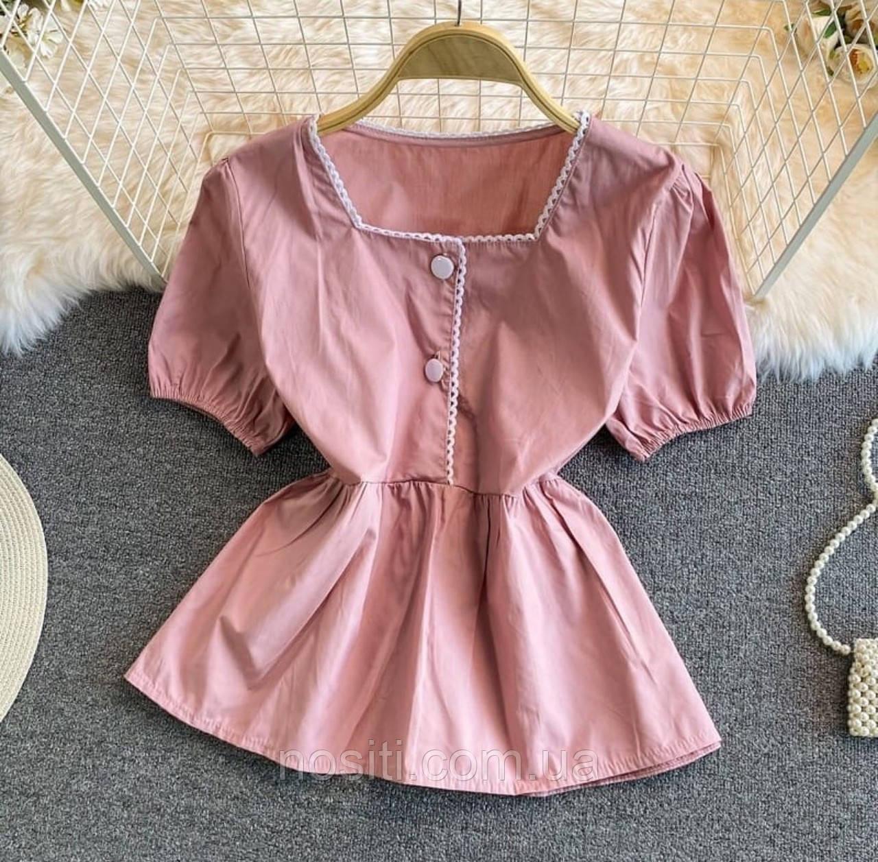 Жіноча блузка гумка під грудьми