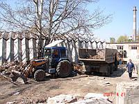Вывоз строительного мусора в Киеве дешево